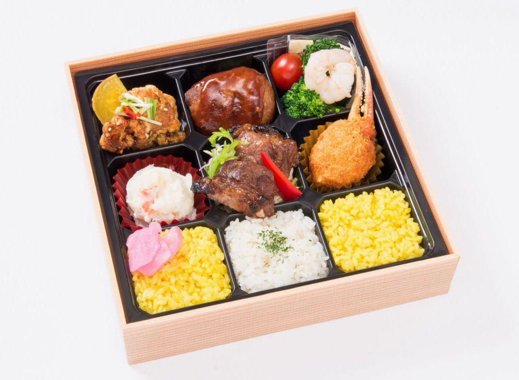 中の洋食弁当(紙箱入)